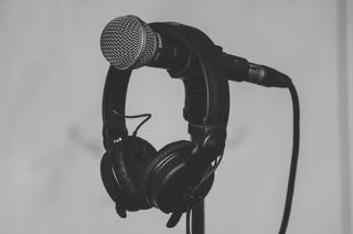 microphone, headphones, audio mixing,